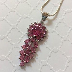 Jewelry - Gorgeous pink Tourmaline Pendant